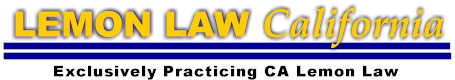 california lemon law